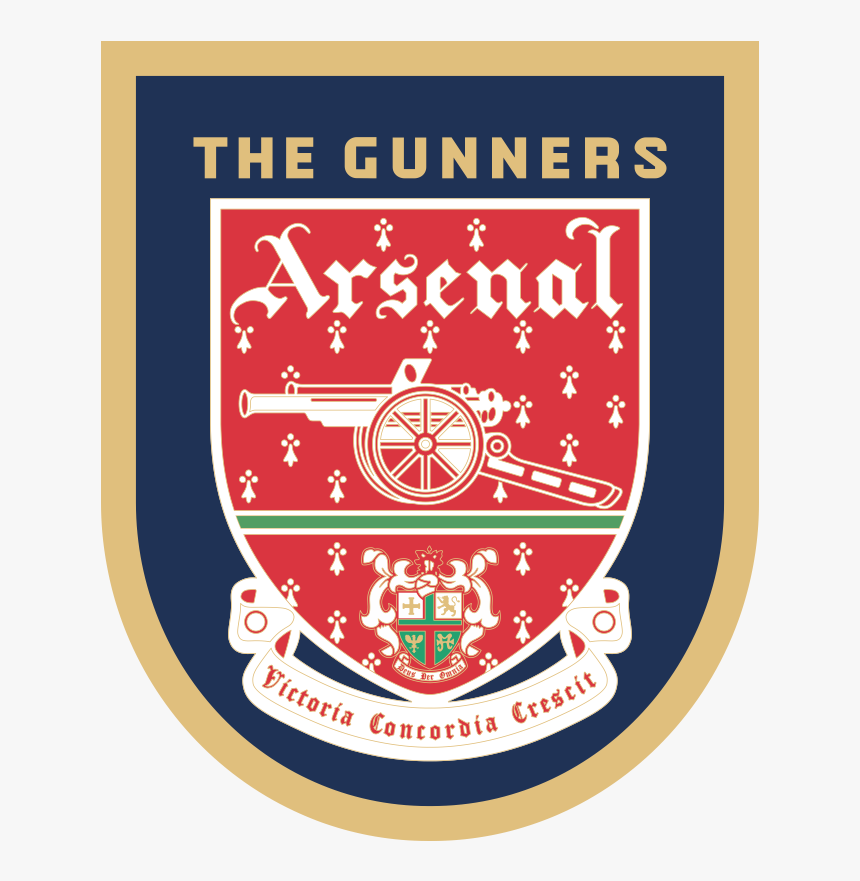 Logo Arsenal 1994 95 Hd Png Download Kindpng