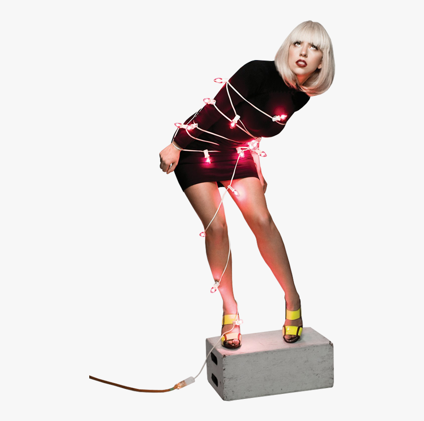 Lady Gaga Png - Lady Gaga Christmas Lights, Transparent Png, Free Download