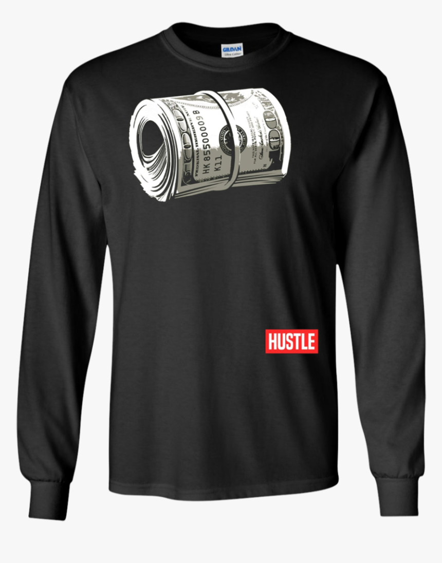 Hustle , Hundred Dollar Bill, Mo Money By Zany Brainy - T-shirt, HD Png Download, Free Download