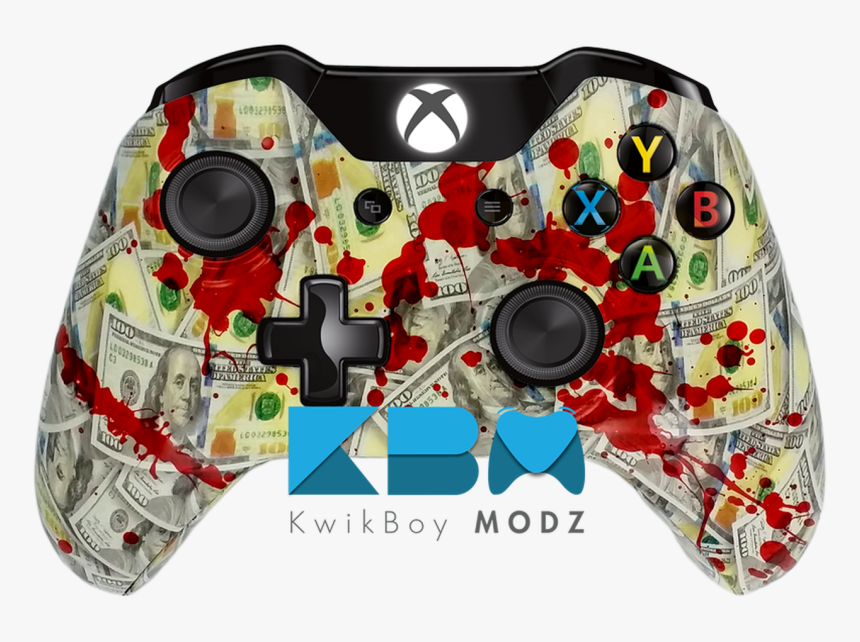 Horror Xbox One Controller, HD Png Download, Free Download