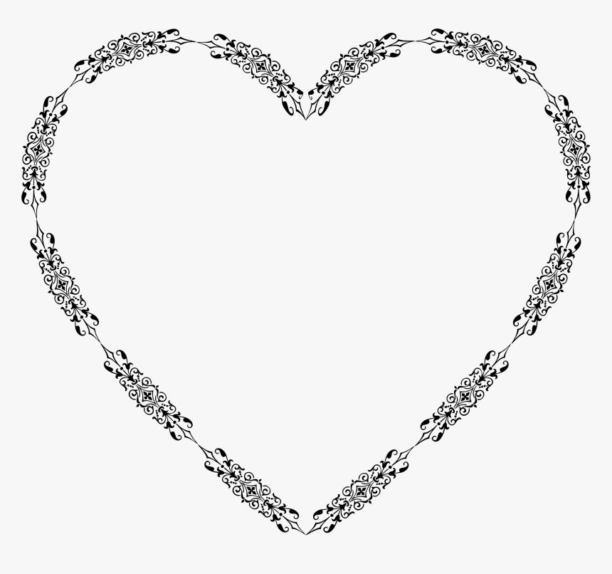 Ornamental Divider Heart Clip Art Free Download Romantico