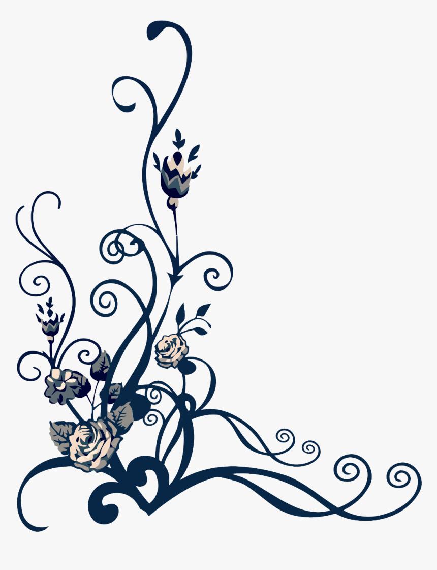 #rose Vine #freetoedit - Floral Design Png Vector, Transparent Png, Free Download