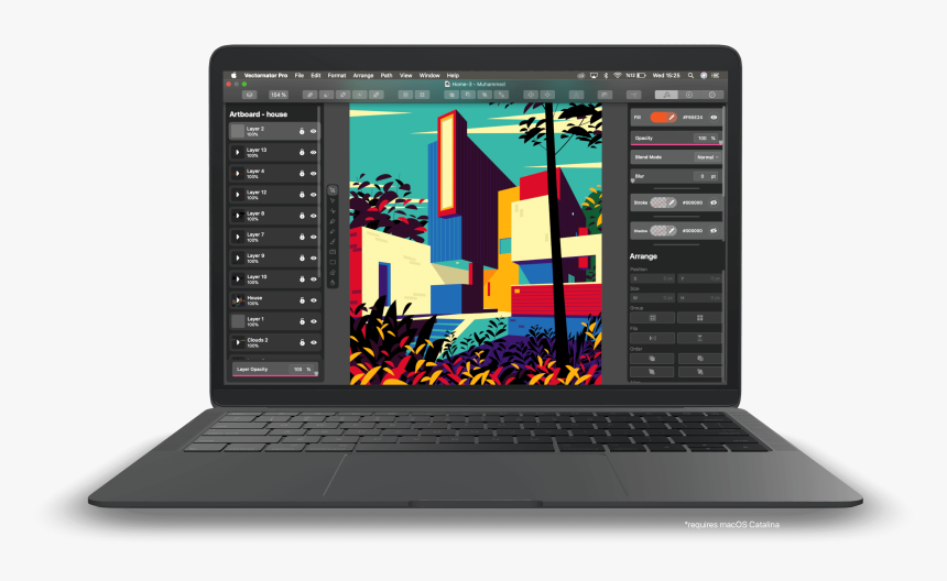 Vectornator Mac, HD Png Download, Free Download