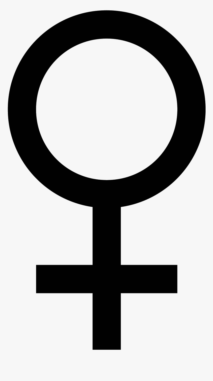Woman Head Silhouette Female Icon - Female Transparent Sign, HD Png Download, Free Download