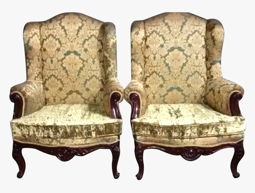 Chair Table Furniture Antique Old Couch Chair Hd Png