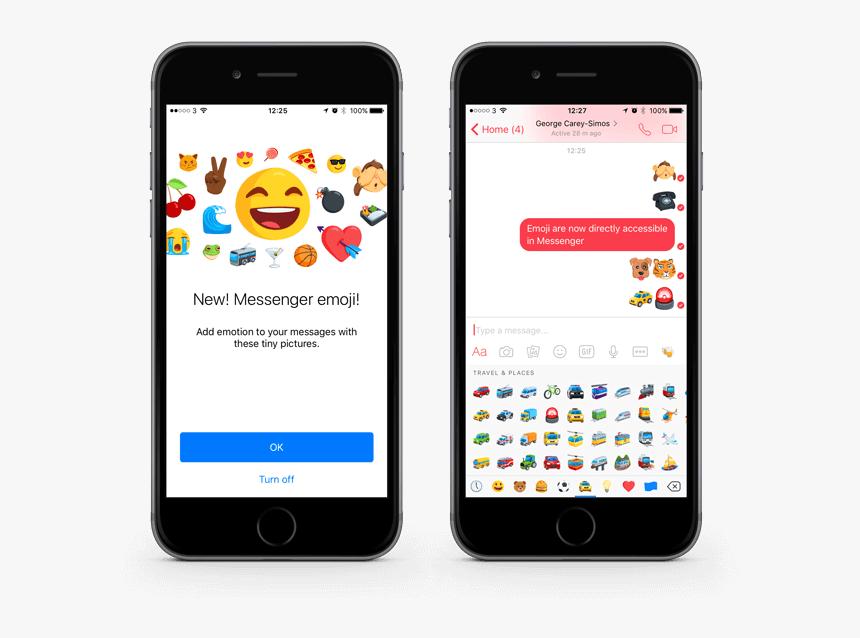 Wersm Facebook Messenger Emoji - Messenger 舊 版 表情 符號, HD Png Download, Free Download