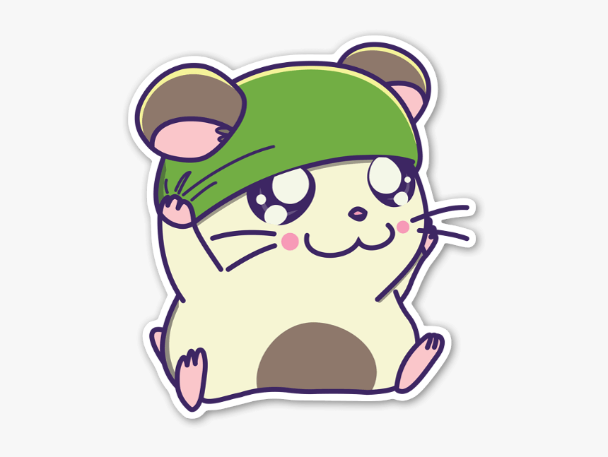 Cappy Sticker - Hamtaro, HD Png Download, Free Download