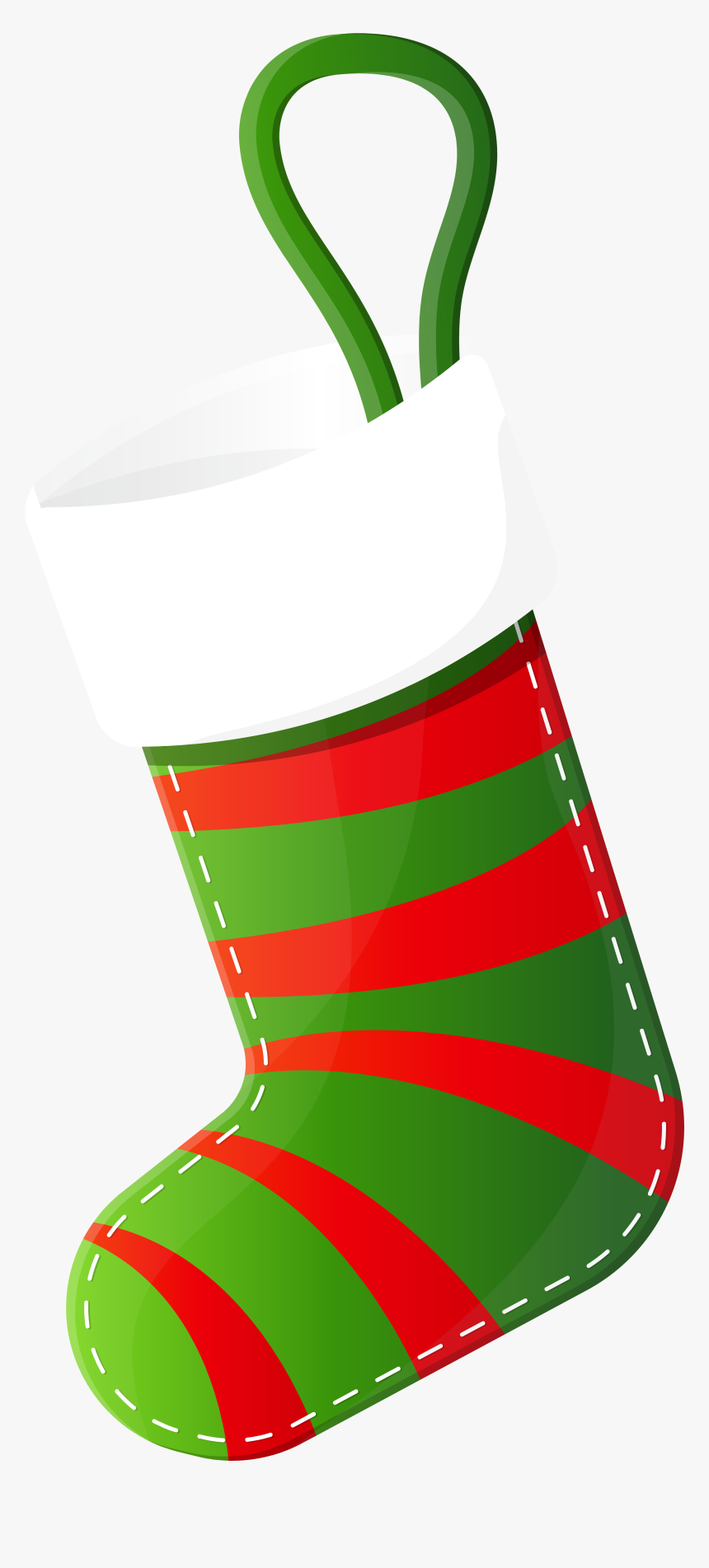 Christmas Stocking Clip Art - Christmas Stocking Image Transparent, HD Png Download, Free Download
