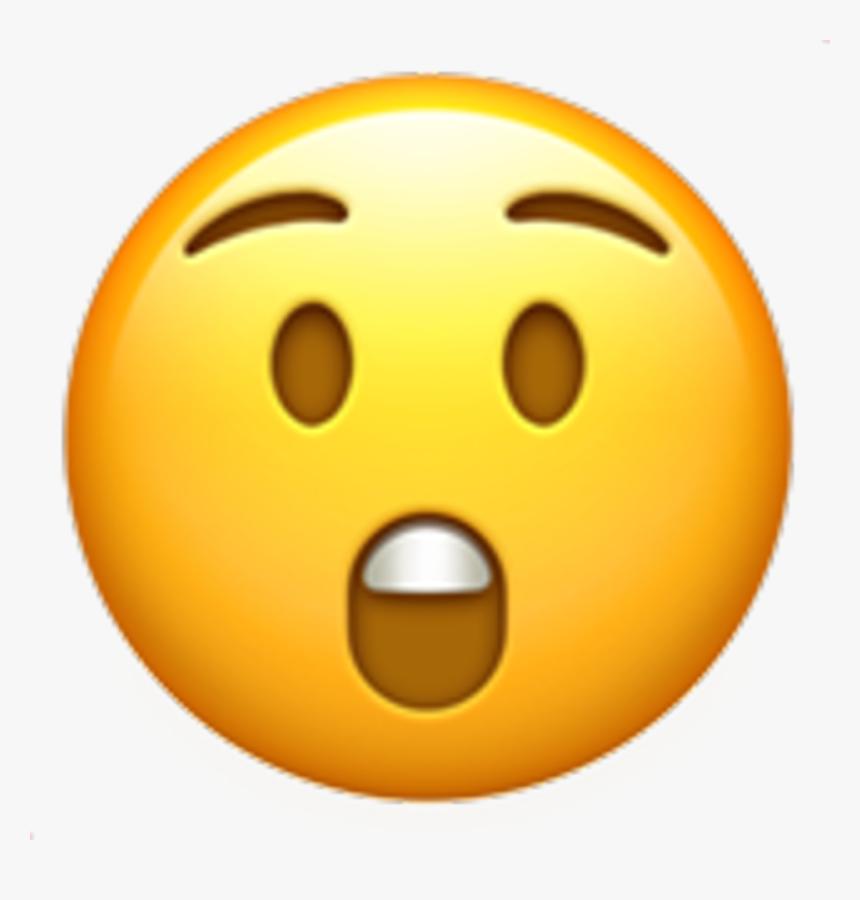 Surprise Emoji Smile Smileyface Fun Laugh Heart Black - Iphone Stickers De Emojis, HD Png Download, Free Download