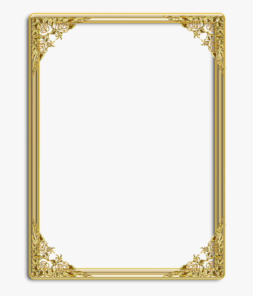 Certificate Design Png Images Vectors And Psd Files - Mirror Frame Png, Transparent Png, Free Download