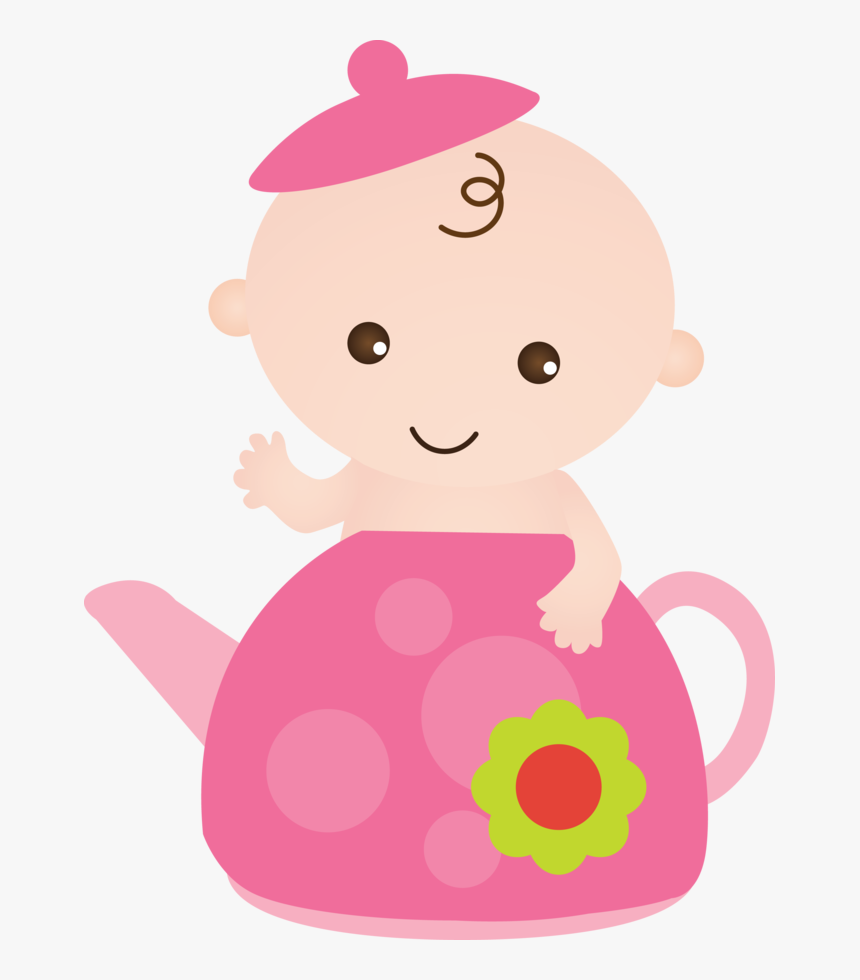 Transparent Pink Baby Diaper Clipart - Baby Girl Clipart Png, Png Download, Free Download