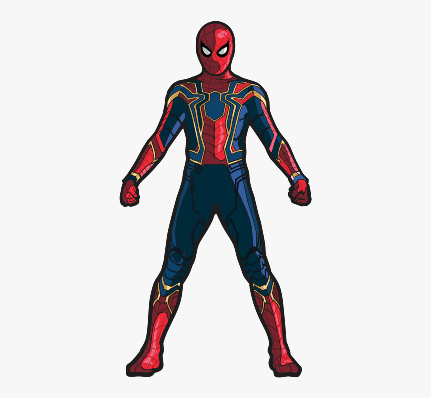 Draw Iron Spider Man, HD Png Download, Free Download