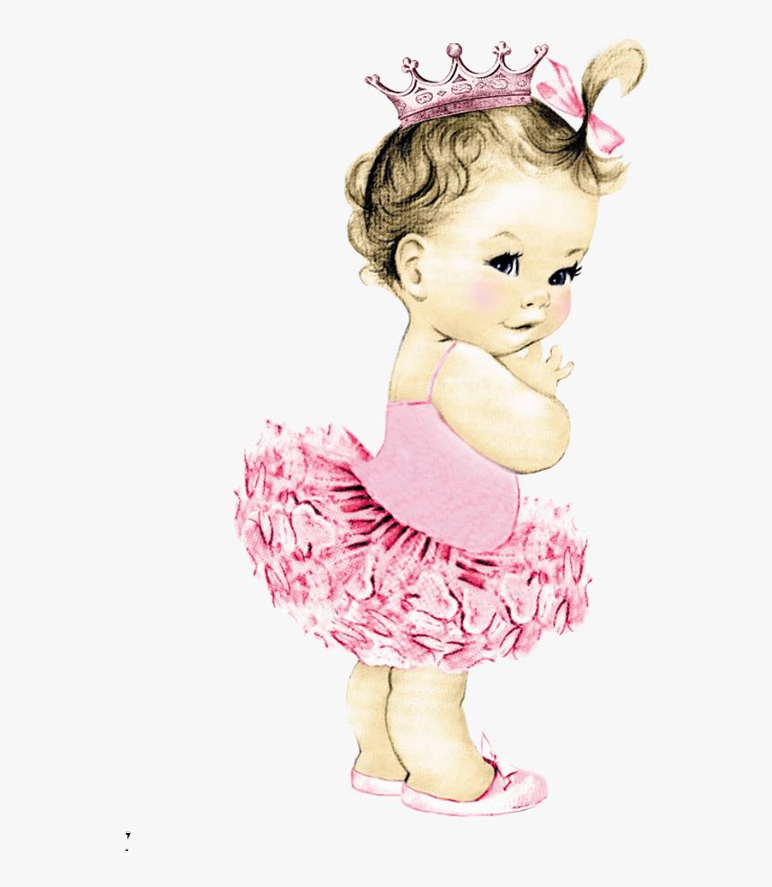Vintage Ballerina Baby, HD Png Download, Free Download