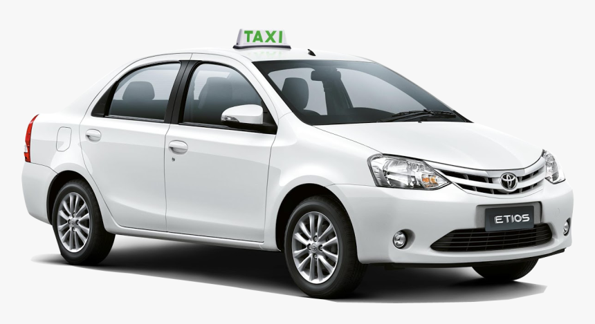 Taxi Cab Near Me, Online Cab Booking In - Toyota Yaris Sedan 2019 Blanco, HD Png Download, Free Download