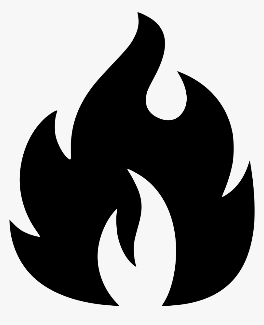 Flame - Fire Icon Transparent Background, HD Png Download, Free Download