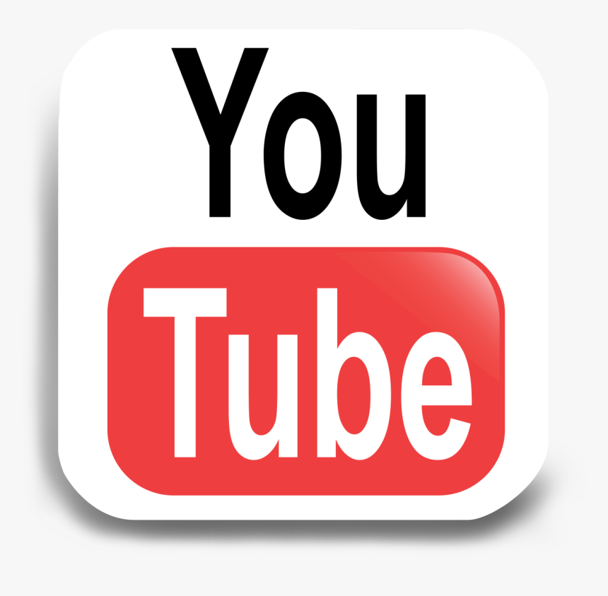 Transparent Youtube Subscribe Button Png Transparent - Transparent Youtube Png Logo White, Png Download, Free Download