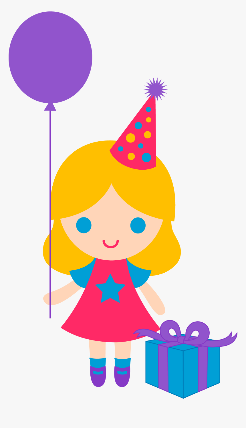 Images Of Baby Girls First Birthday Clip Art Happy Birthday Girl Clipart Hd Png Download Kindpng