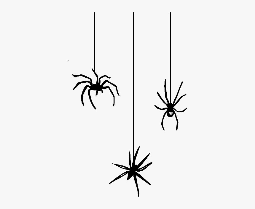 Spider Web Halloween Spider-man Clip Art - Halloween Spider Png, Transparent Png, Free Download