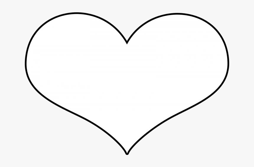 Desenho Coração Branco Png - White Love Heart Vector, Transparent Png, Free Download