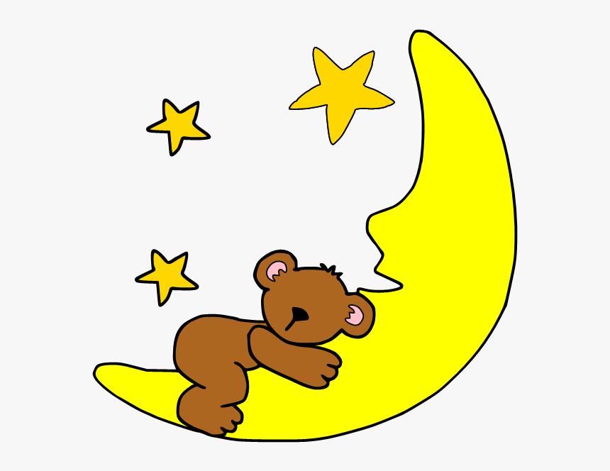 Sleep Cartoon Clip Art - Cute Cartoon Moon Clipart, HD Png ...