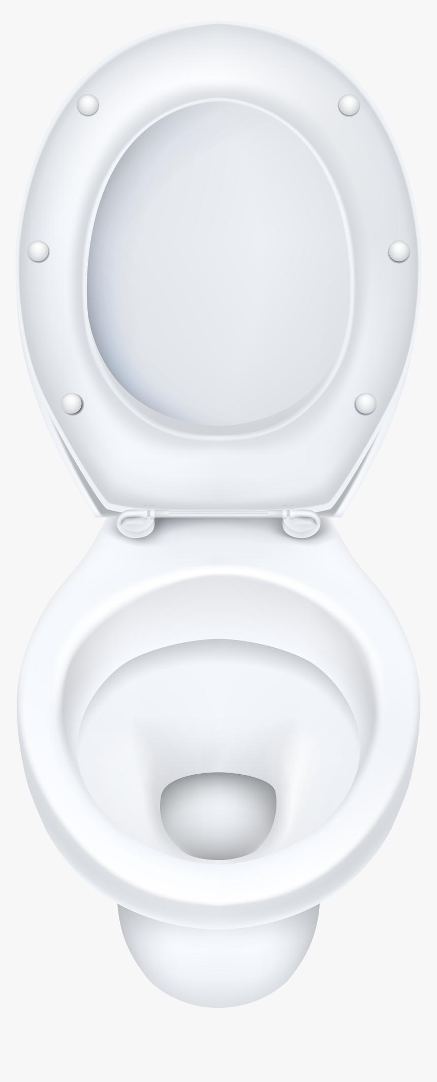 White Toilet Bowl Png Clip Art - Toilet Bowl Clip Art, Transparent Png, Free Download