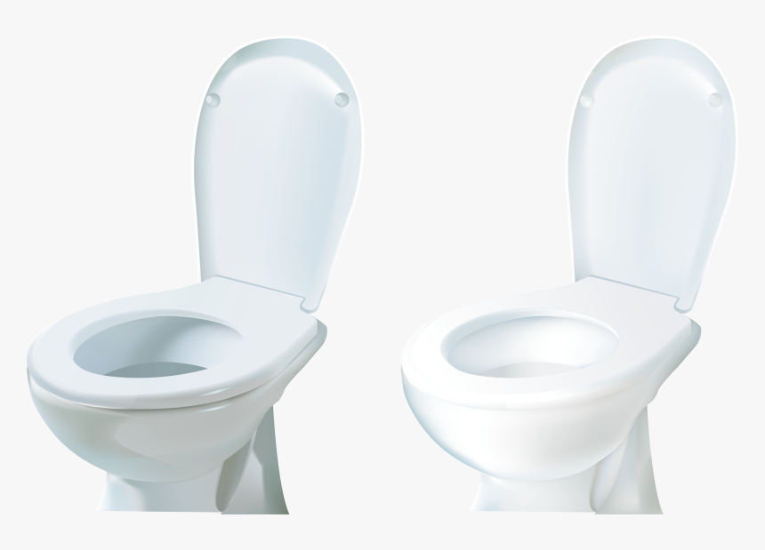 Clean Toilet Png - Toilet Seat, Transparent Png, Free Download