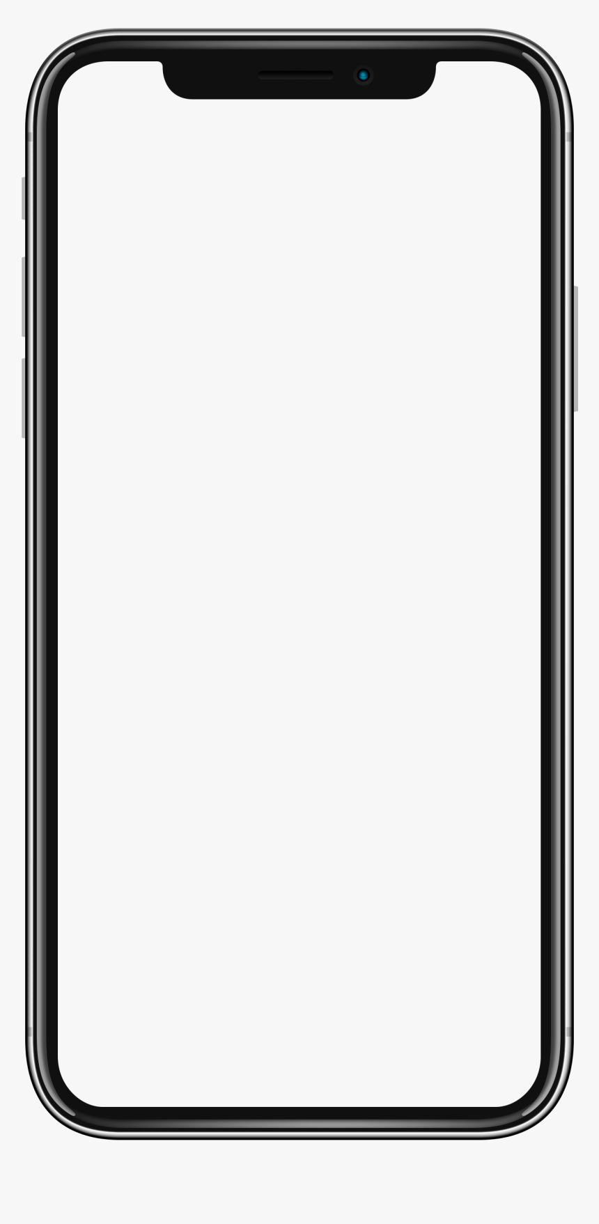 Iphone Frame Png - Iphone X Transparent Background, Png Download, Free Download