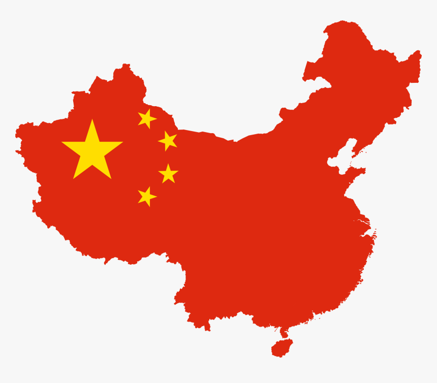 China Map Flag, HD Png Download, Free Download