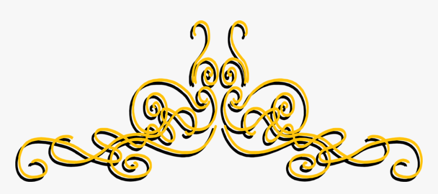 Transparent Fancy Lines Png - Transparent Line Design Gold, Png Download, Free Download