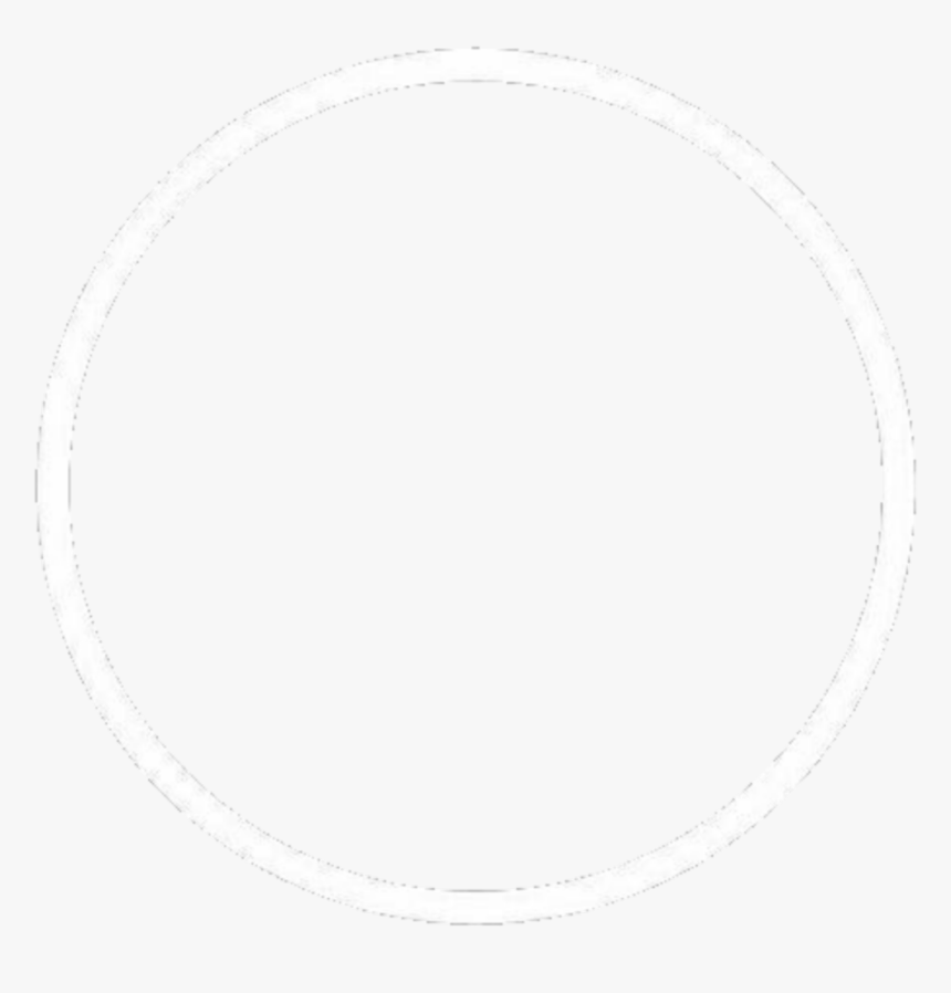 #circle #whitecircle #white #circles #tumblr #pfp #propics - Circle With Opening, HD Png Download, Free Download