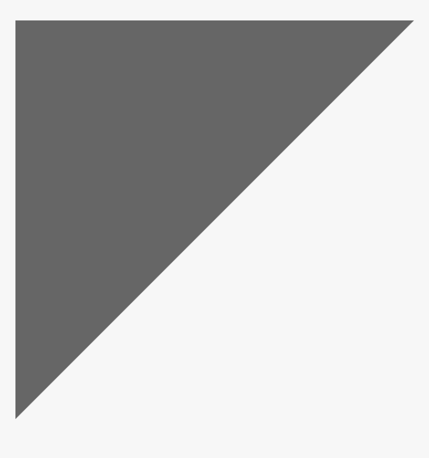 Grey Right Angle Triangle, HD Png Download, Free Download