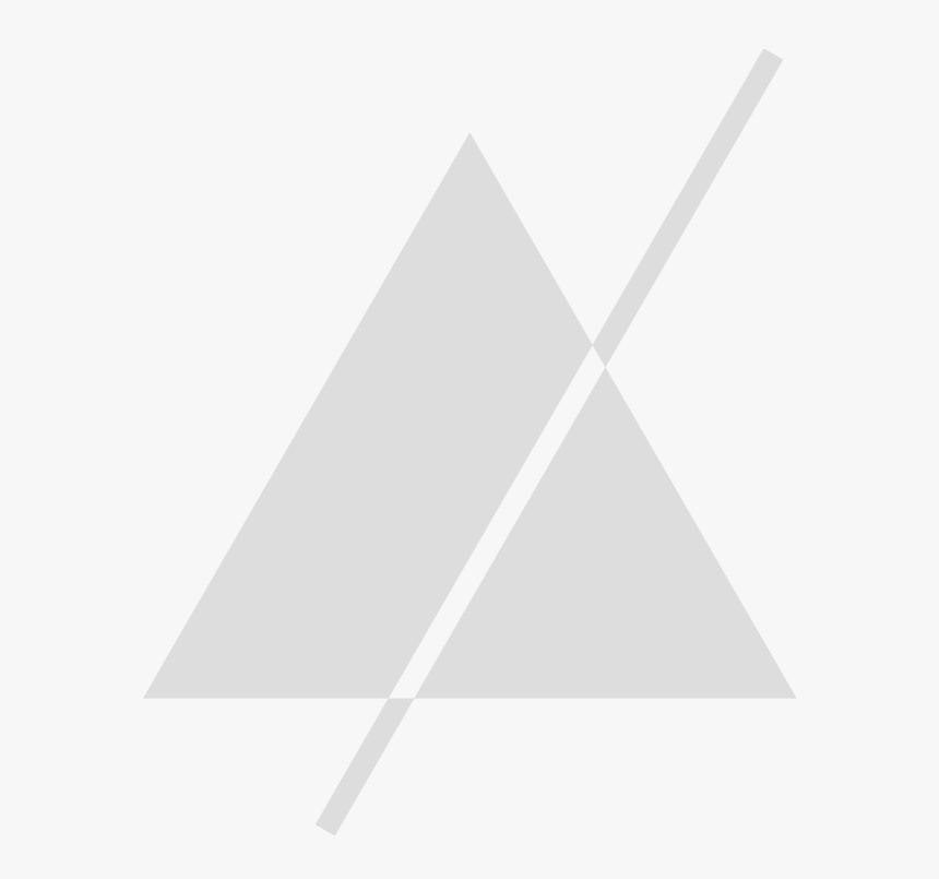 Pitch Perfect Creative Logomark Grey Triangle - Triangle, HD Png Download, Free Download