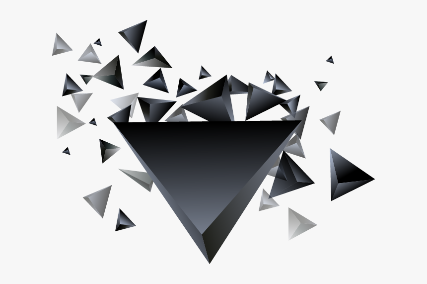 Cool Triangle Png Download - Triangle Dispersion Effect, Transparent Png, Free Download