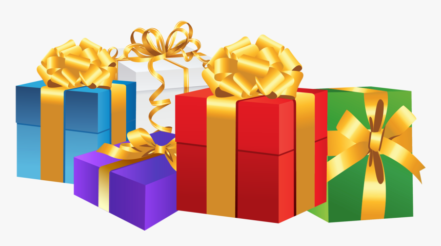 Christmas Gift Clipart - Birthday Gift Box Png, Transparent Png, Free Download
