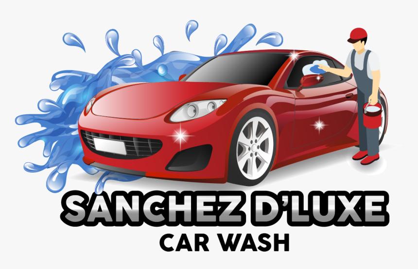 Sanchez D Luxe Car Wash Is The Finest Auto Detailing Auto Car Wash Png Transparent Png Kindpng