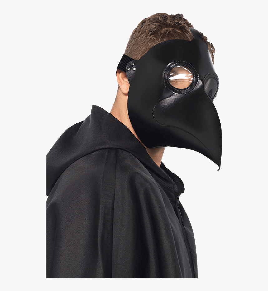 Faux Leather Plague Doctor Mask - Halloween Costumes Plague Doctor For Boys, HD Png Download, Free Download