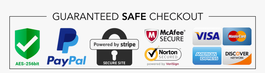 Secure Checkout Png - Guaranteed Safe Checkout Badge, Transparent Png, Free Download