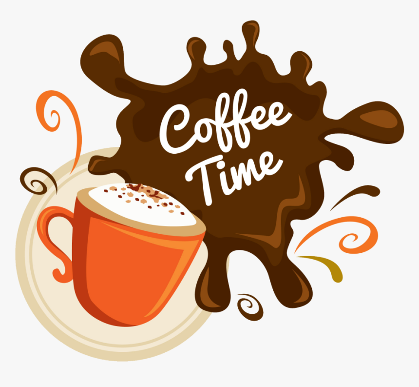 Cup,coffee Coffee,java Art,brand,coffee - Good Morning Coffee, HD Png Download, Free Download