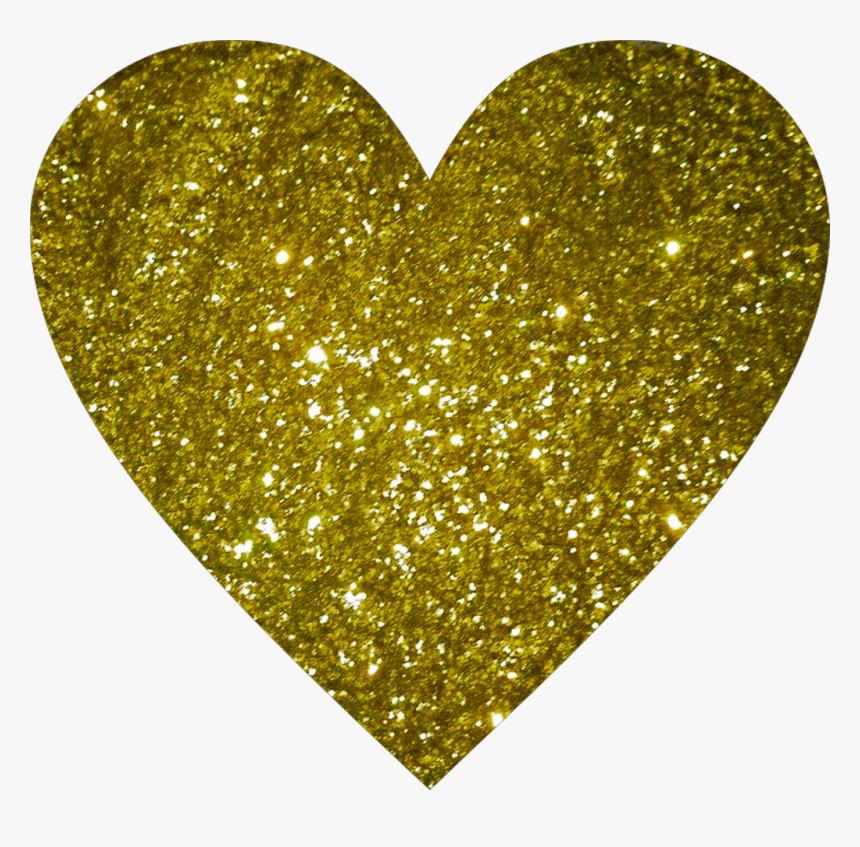 Glitter Heart Png - Hearts In Sparkle Stickers, Transparent Png, Free Download