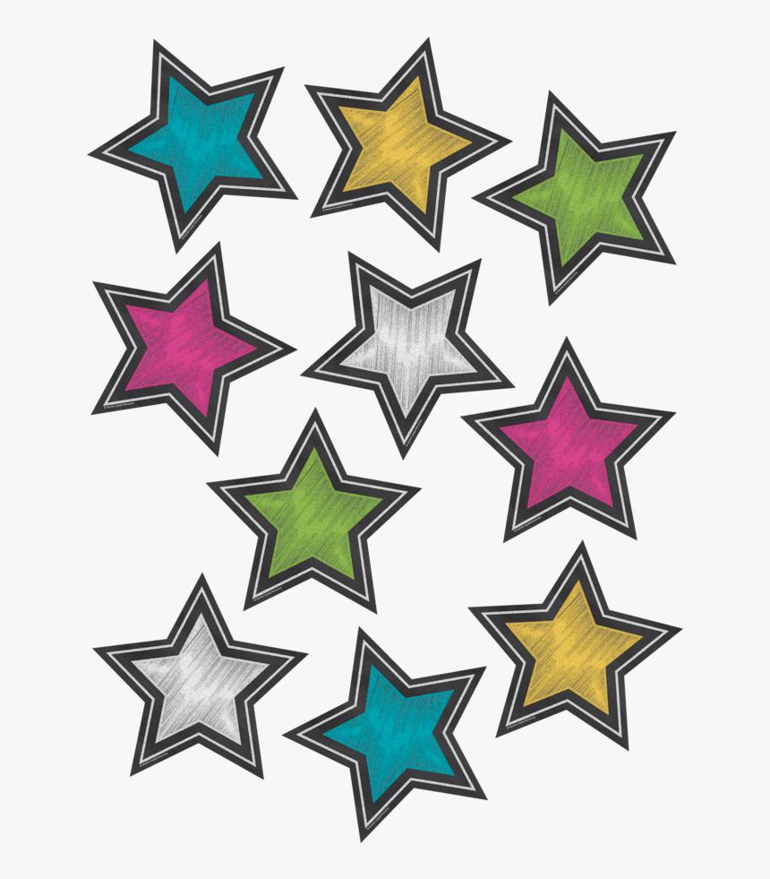 Chalkboard Brights Stars, HD Png Download, Free Download