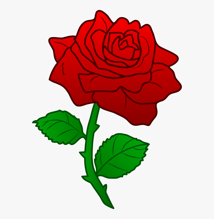 Tiny Rose Png - Red Roses Beauty And The Beast, Transparent Png, Free Download