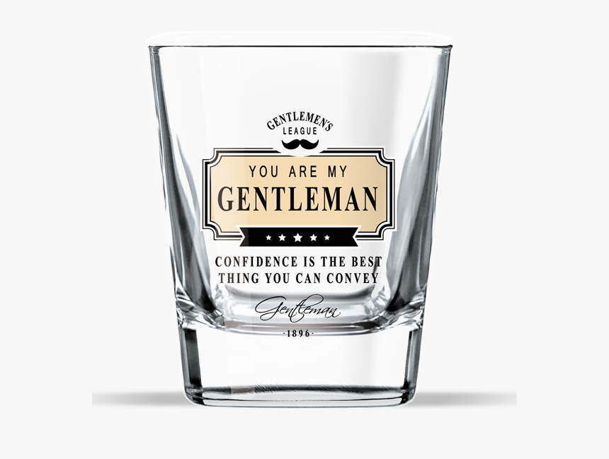 Transparent Whisky Glass Png - Sklenička Na Whisky Gentleman, Png Download, Free Download
