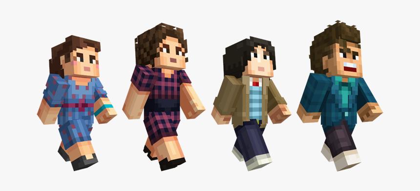Minecraft Stranger Things Skin, HD Png Download, Free Download