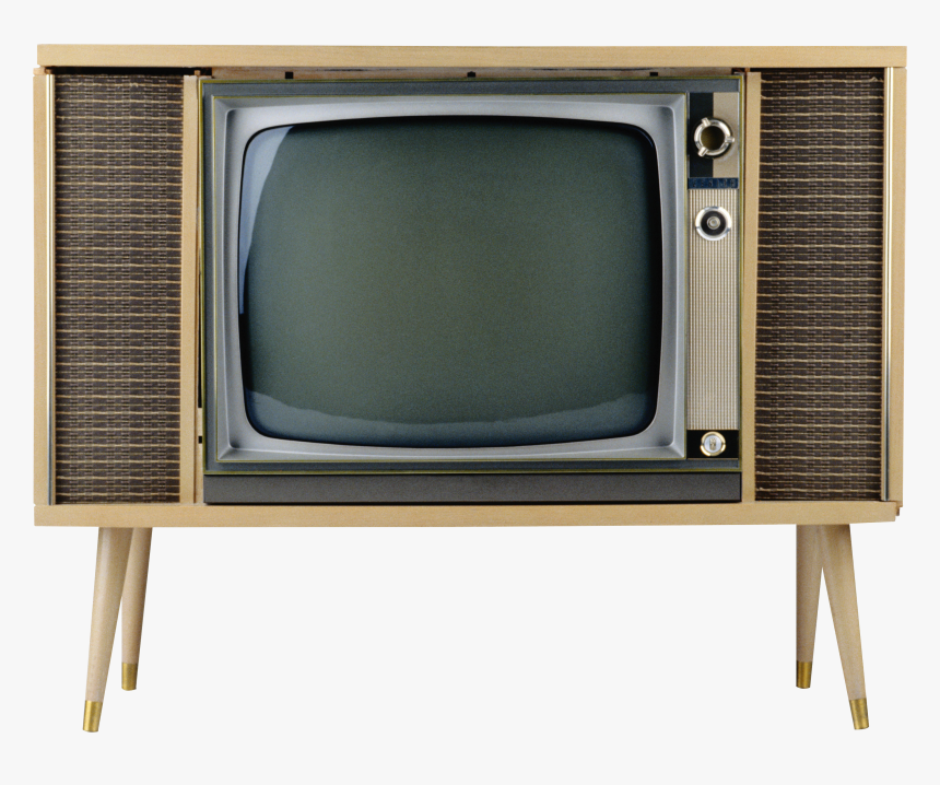 Old Tv Black And White, HD Png Download, Free Download