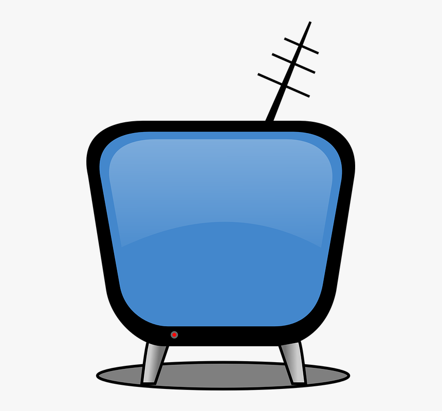 Tv, Tv Screen, Television, Monitor, Antenna, Classic - Tv Clip Art, HD Png Download, Free Download