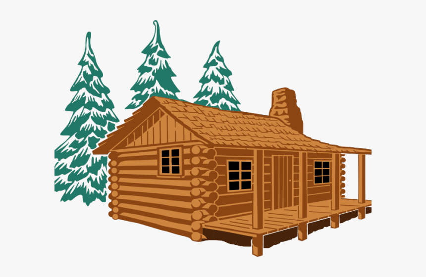 Log Cabin Clipart, HD Png Download, Free Download