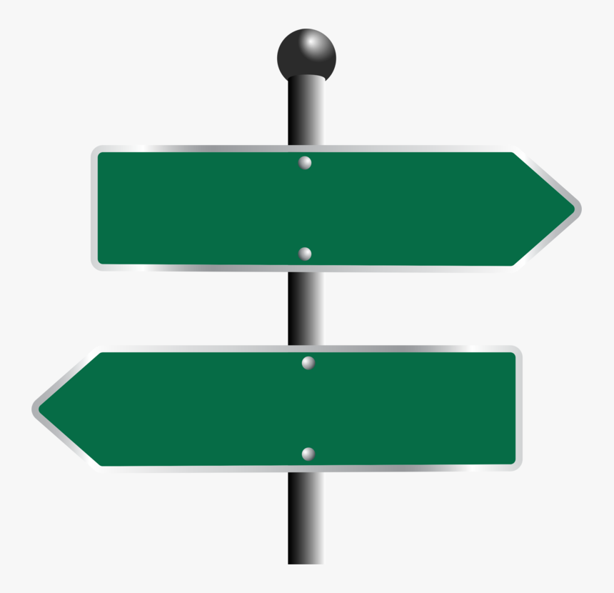 Line,angle,green - Blank Street Signs Png, Transparent Png, Free Download
