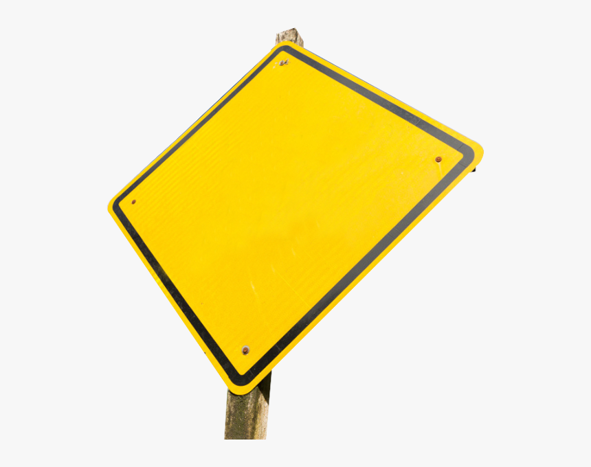 Transparent Blank Sign Png - Traffic Sign, Png Download, Free Download