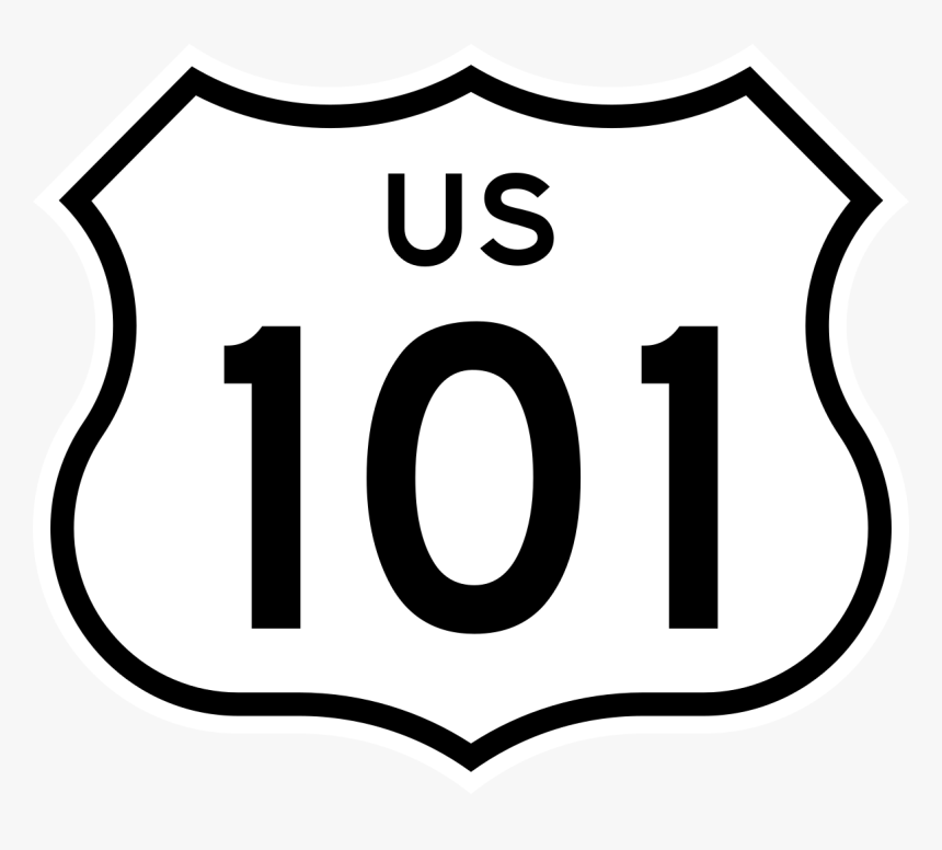 U.s. Route 101 In California, HD Png Download, Free Download