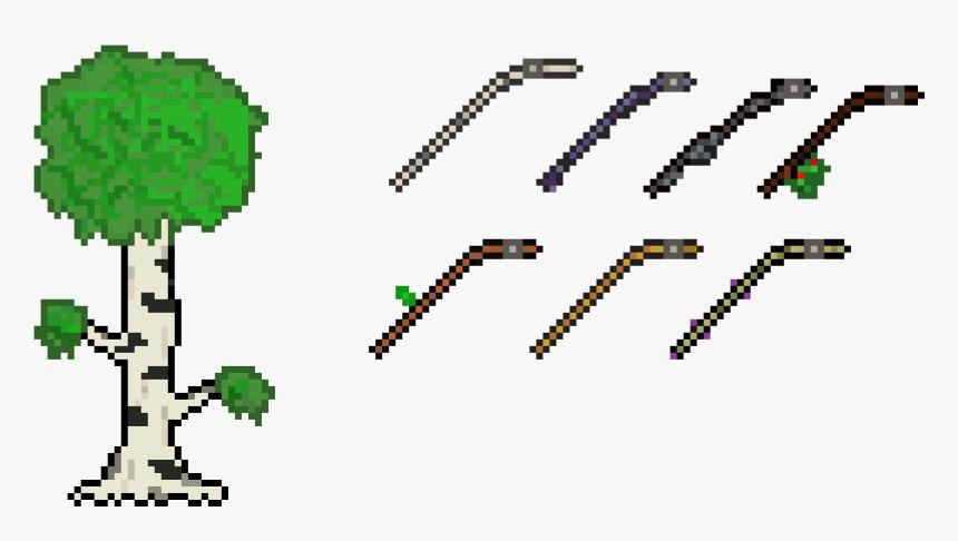 Clip Art Fishing Rods Terraria - Transparent Terraria Fishing Rod, HD Png Download, Free Download